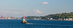 Seattle, WA - Puget Sound View