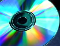 Compact Disc In Sunlight