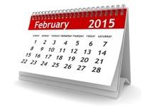 February 2015 - Calendar series