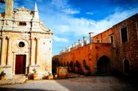 Arkadi Monastery Basilika, Rethymnon, Crete, Greece