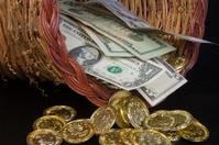 Cornucopia of gold and cash