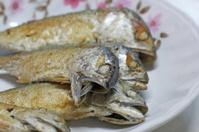 Fried the mackerel , crisp and soft