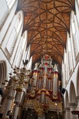 Sint-Bavokerk church interiors.
