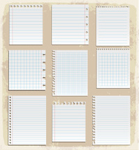 paper sheet collection