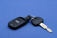 Car key - blue