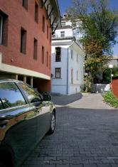 internal courtyard of house