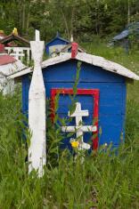 Alaska Native People Grave Site