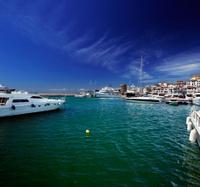 Puerto Banus marina in Marbella, Spain
