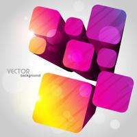 cube shape artwork