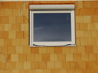 building site house window brick wall glass