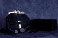 Old handbag and box