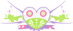 Heart Butterflies and Birds