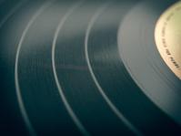 Retro look Vinyl record