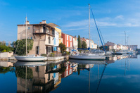 Port Grimaud, little French Venice village