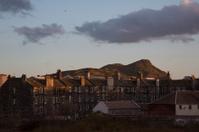 Scotland - Edinburgh Sunset over Arthur Seat