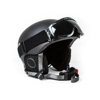 Ski helmet on white background