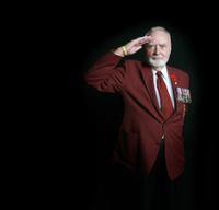 Saluting WWII Veteran