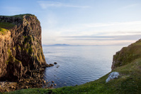 Cliff in Skye, Scotland