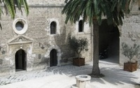 exotic courtyard