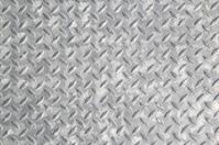 Diamond shape steel plate texture.