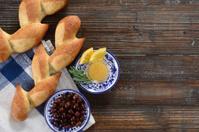 Pain D'Epi or Wheat Stalk Bread
