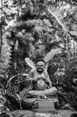 Arhat Kanakbharadvaja statue