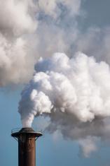 Close-up of smoke stack