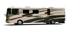 Class A Motorhome (with clipping path)