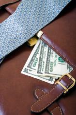 Money and bag