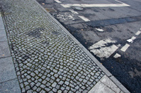 urban street pavement and asphalt background