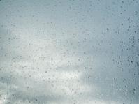rain drop on window glass