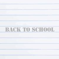 back to school chalkboard in vector