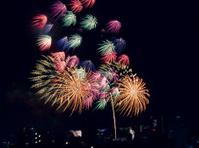 Fireworks in Tokyo, Japan
