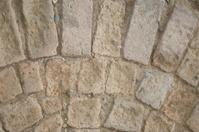 Textures of stone pathway.