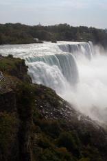 American and Bridal Veil Falls at Niagara, New York