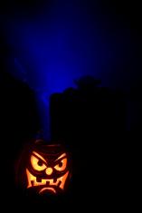 Graveyard Jack O Lantern II