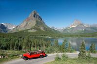 Glacier National Park Open Vintage Air Tour Bus