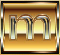 Ingot Font illustration Letter m