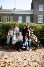 teenage students: friends