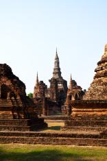 Ancient thai pagoda