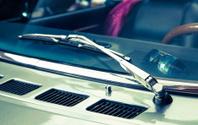 Detail of a veteran car