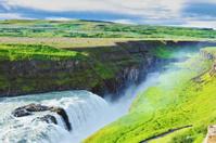 Grandiose Gullfoss in Iceland