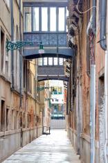 Venice. Narrow street