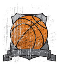Grungy Basketball Trophy