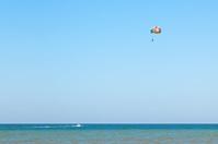 Parasailing on Sea of Azov, Golubitskaya resort