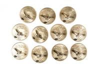 1997 Platinum Hundred Dollar Coins