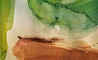 Abstract watercolour splash.