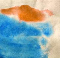 Abstract watercolour splash. Watercolour Background