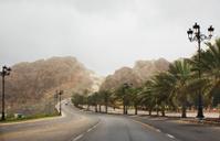 Oman. Muscat. Road Al Bahri.