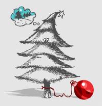 poor Christmas tree ...
